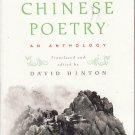Classical Chinese Poetry - David Hinton