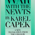 War With the Newts by Karel Capek