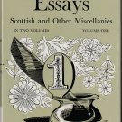 Essays - Scottish and Other Miscellanies Volume One by Thomas Carlyle - Hardback