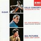Elgar - Cello Concerto - Sea Pictures - Jacqueline Du Pre - John Barbirolli - CD