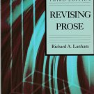 Revising Prose by Richard A. Lanham