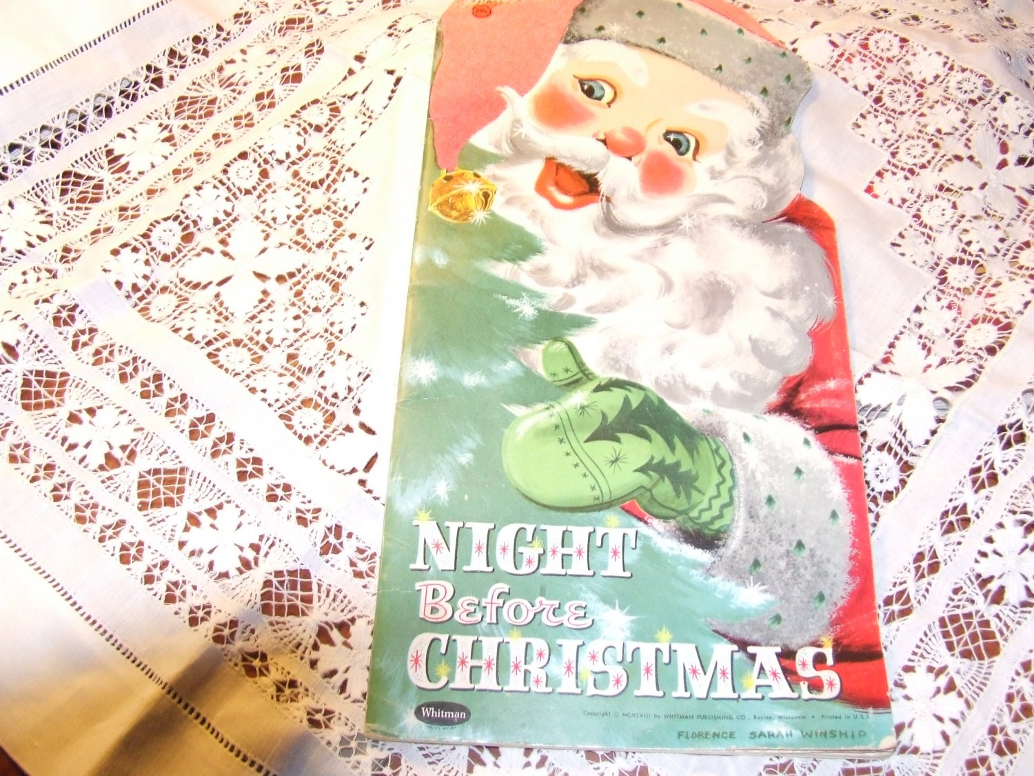 night before christmas book 1950s 5 - Night Before Christmas Book