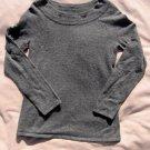 Marisa Christina Sweater S Small Gray Angora Blend Top