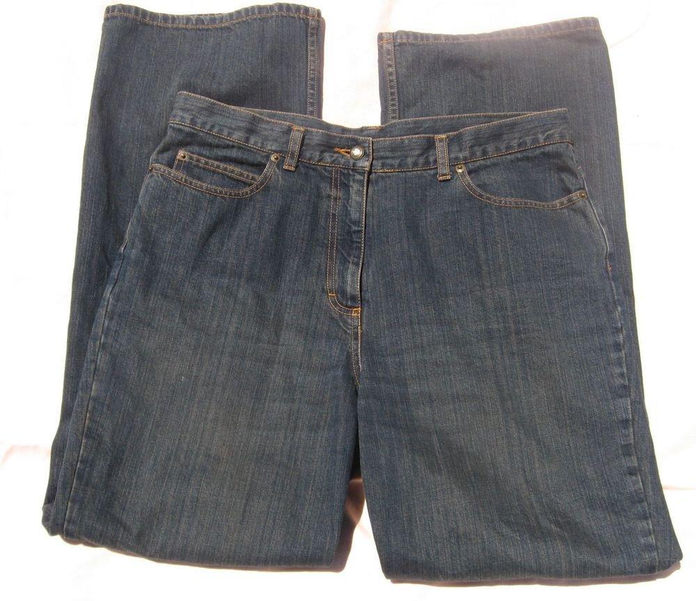 Jeans Will Smith 14 36 Waist Blue Jeans Denim Dark Wash Straight