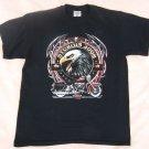 Sturgis 2008 T shirt Large Motorcycle Black Top