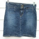 Esprit Denim Skirt 5/6 31 Waist Blue Jean Mini
