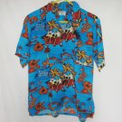 National Sport by Manhattan Tropical Shirt Top Large 44 Chest Hawaiian Paradise