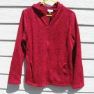 Bobbie Brooks Hoodie Jacket XL 43 chest NWT Dark Pink Sweat Jacket