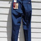 Dickies Navy Blue Work Pants NWT 30x32 Poplin Easy Care Men