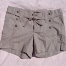 Lee One Tru Fit Light Brown Shorts 16M 39 Waist Button Accented
