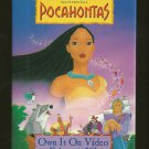 Walt Disney Masterpieces Pocahontas Pinback Button Authentic
