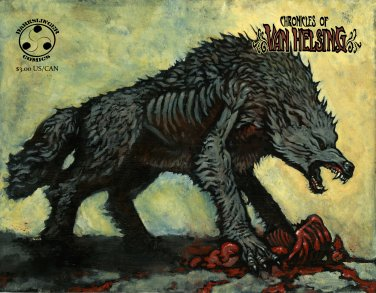 Chronicles of Van Helsing #2 Vampire Comic Book Darkslinger Comics