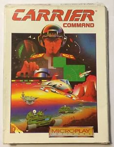 Carrier Command Microplay Software 212 1993 Vintage PC Game Complete In Box