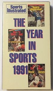 Sports Illustrated The Year In Sports 1991 VHS