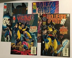 Wolverine Gambit Victims Complete X-MEN 4 Issue Mini-Series 1 2 3 4