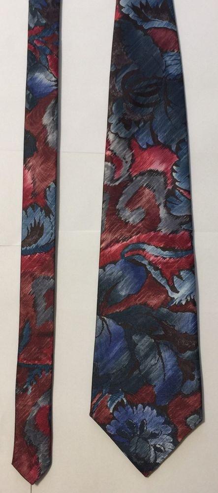 Towncraft Polyester Multi-Colored Necktie Tie