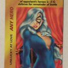 Marvel Overpower Any Hero Unlucky At Love Trading Card Black Cat One Per Deck