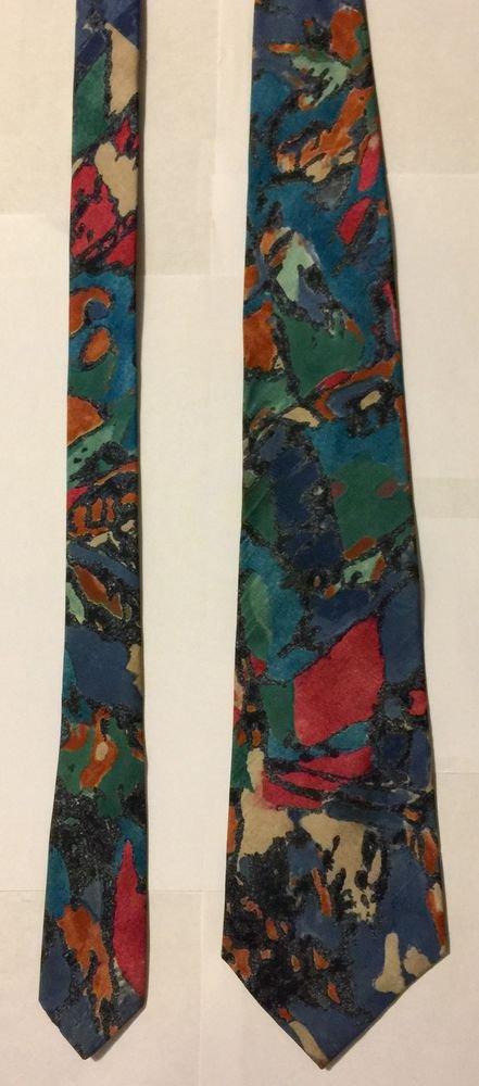 Hardy Amies Multicolored Necktie Tie