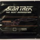 Star Trek The Next Generation Plaque Decal Loot Crate Brand New Sealed