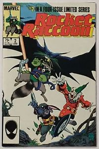 Rocket Raccoon #2 (Jun 1985, Marvel) FN Condition
