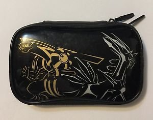 Pokemon Nintendo DS Carrying Case Pouch Gold and Silver Dialga Palkia 2008 BDA