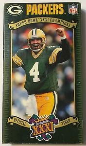 Packers Super Bowl XXXI Champions Official Video VHS