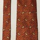 Nautica Paisley Print Silk Necktie Tie