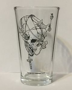 Chronicles of Van Helsing 15 Ounce Mixing Glass Vampire Skull Darkslinger Comics