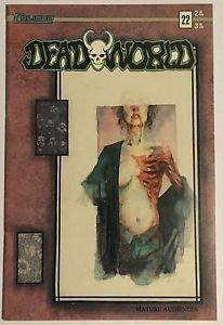 Deadworld #22 Cover B (1st Series Caliber, 1991) FN Condition