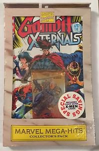 Marvel Mega-Hits Collector's Pack Gambit and the X-Ternals 1-4 + Trading Cards