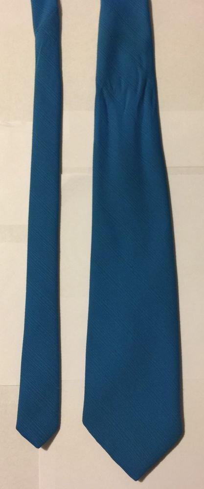 Castle Blue Silk Necktie