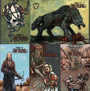 Chronicles of Van Helsing Volume 1 Comic Book Bundle Contains Issues #1 2 3 4 5