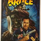Bruce Campbell In My Name is Bruce Blockbuster Artwork Display Card