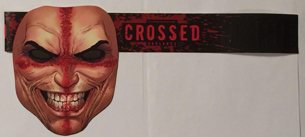 Crossed Badlands Promotional Mask Avatar Press Jacen Burrows Artwork