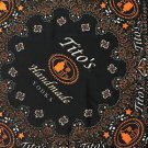 Tito's Handmade Vodka Bandana Black Orange and White