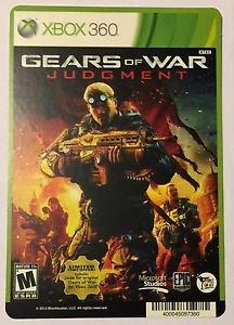 Xbox 360 Gears of War Judgment Blockbuster Artwork Display Card