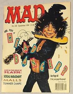 MAD #330 (Sep 1994, EC) Slash Parody Cover