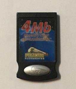 Nintendo Gamecube Pelican Memory Card 4 MB