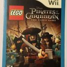 Nintendo Wii Pirates of the Caribbean Lego Blockbuster Artwork Display Card