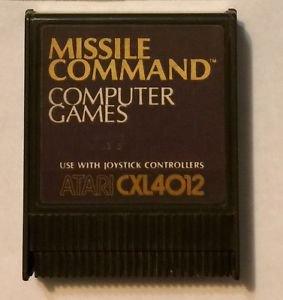 Missile Command Atari CXL4012 Video Game Cartridge