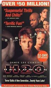 Halloween H2O (VHS, 1998) Promotional Screener