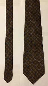 JoS A Bank Corporate Collection Brown Silk Necktie