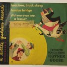 Little Golden Record Unbreakable Yellow Record Favorite Songs From Mother Goose