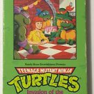 Teenage Mutant Ninja Turtles Invasion of the Turtle Snatchers VHS Burger King
