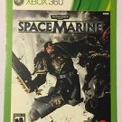 Xbox 360 Warhammer 40000 Space Marines Blockbuster Artwork Display Card