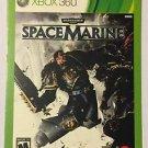 Xbox 360 Warhammer 40000 Space Marines Blockbuster Artwork Display Card