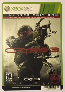 Xbox 360 Crysis 3 Blockbuster Artwork Display Card
