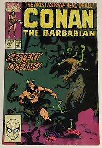 Conan the Barbarian #237 (Oct 1990, Marvel) VG/FN Condition