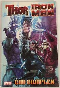 Iron Man Thor God Complex (Marvel Comics) TPB Graphic Novel