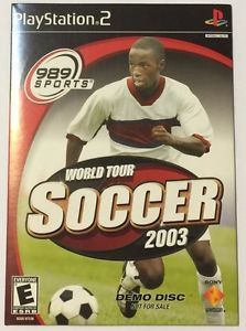 World Tour Soccer 2003 (Sony PlayStation 2, 2003) Demo Disc